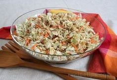 Oriental coleslaw.  My recipe is a little different but just as yummy!