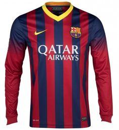 Barcelona 2013 14 Camiseta fútbol manga larga  037  - €16.87   Camisetas ce266709d63e0