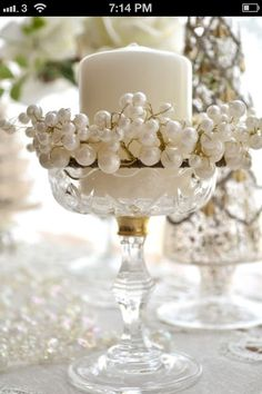 Ivory and pearls