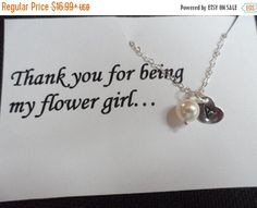TODAY SALE SALE  Sterling Silver Initial by Jenalynscreations