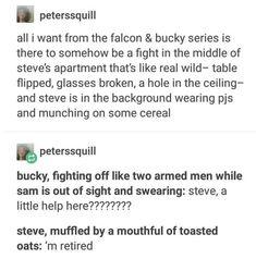 Marvel Funny, Marvel Memes, Marvel Dc Comics, Marvel Avengers, Bucky Barnes, Steve Rogers, Captain America And Bucky, Stucky, Marvel Cinematic Universe