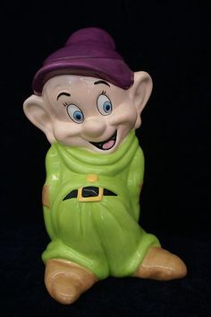 *DOPEY, from Snow White RARE ~ Cookie Jar