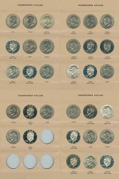 Find New & Used Eisenhower , Dollars , Coins: US , Coins & Paper Money , on Coins Coins, Personalized Items, Tv, Rooms, Television Set, Television