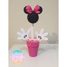 Minnie Mouse Mittelstücke 1st Birthday