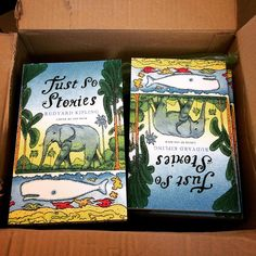Just So Stories by Rudyard Kipling, just arriving into our office at Alma Books  #AlmaBooks