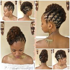 Cute Bob Hairstyles - February 06 2019 at Short Dreadlocks Styles, Black Hair Updo Hairstyles, Dreadlock Styles, Dreadlock Hairstyles, African Hairstyles, Braided Hairstyles, Hairstyles 2016, Wedding Hairstyles, 1940s Hairstyles
