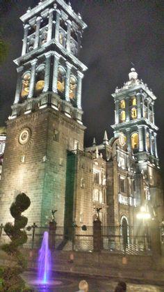 Catedral de Puebla, México.
