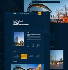 Construction and Building Website Template HTML, PSD Html Website Templates, Building A Website, Layout, Construction, Design, Building, Page Layout