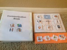 Visual schedule Communication Book Special Needs PEC symbols Autism Communication schedule sentence strip choice board 60 PEC symbols