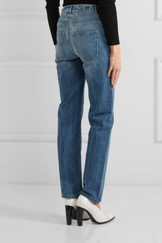 Opening Ceremony - Dip Mid-rise Straight-leg Jeans - Light denim - 29