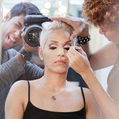 Makeup in action! Fun!