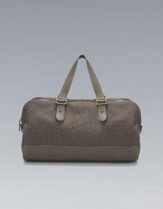 ZARA COMBINED BOWLING BAG ($90)