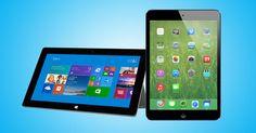 Tablet Showdown: Surface 2 vs. iPad via @Mashable #gadget #tablet