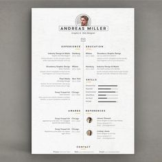 Best Resume by sz81 on @creativemarket
