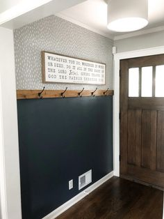 DIY Home Remodeling DIY Easy Entryway Makeover with Paint! Mindfully Gray Diy home decor DIY Easy Entryway Gray Home Home diy Makeover Mindfully paint Remodeling Diy Interior, Interior Design, Grey Interior Paint, Interior Wall Colors, Decoration Entree, Sweet Home, Diy Casa, Home Renovation, Architecture Renovation