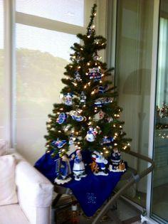 A UK holiday tree! Photo courtesy Susan Cardwell.