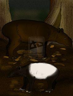 Megatapirus augustus  | Megatapirus augustus by = avancna