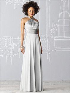 After Six Bridesmaid Dress 6624 #Gray #Bridesmaid #Dresses
