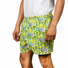 DISCO DANCER MEN YELLOW BOXER SHORTS