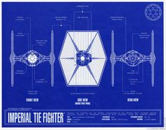 TIE Fighter Blueprint
