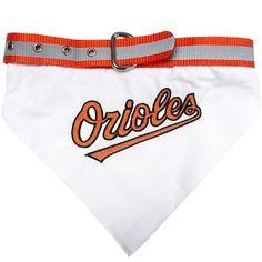 Baltimore Orioles Dog Bandana Collar Medium