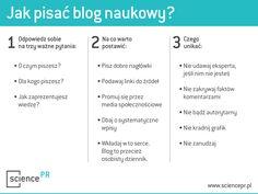 Science PR: Jak pisać blog naukowy?