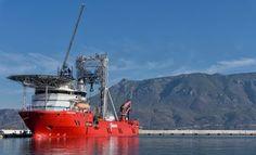 Γεωεπιστήμονες ξεκινούν με το πλοίο-γεωτρύπανο Fugro Synergy έρευνες στον Κορινθιακό