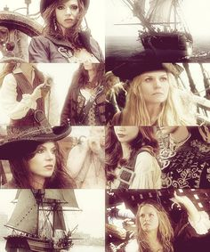 Swan Queen AU: Pirates of the Enchanted Forest.