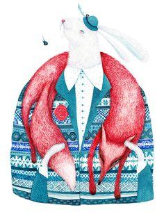 Madalina Andronic.   - http://www.imaginativebloom.com/2012/01/10/illustrator-madalina-andronic/