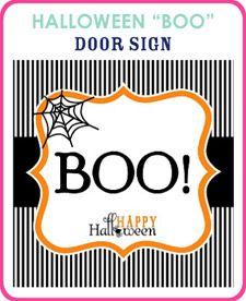 Free Door Sign