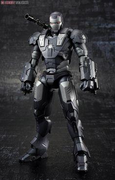 Bandai Spirits Iron Man 2 S. Figuarts Action Figure War Machine for sale online Comic Book Characters, Comic Character, Marvel Legends, Marvel Heroes, Marvel Comics, War Machine Iron Man, Justin Hammer, Iron Man Photos, Famous Superheroes