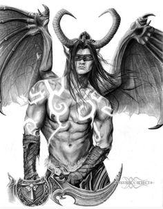 Illidan Stormrage - World of Warcraft by ShonnaWhite on DeviantArt