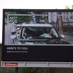 MINI: The 'Salute' Digital Billboard Campaign | Digital Buzz Blog