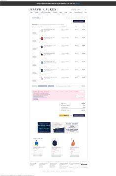 Your Shopping Bag — RalphLauren.com