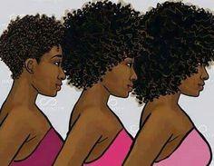 Big Chop Natural Hair, Natural Hair Art, Natural Hair Journey, Natural Hair Styles, Natural Girls, Natural Afro Hairstyles, Ethnic Hairstyles, Black Love Art, Black Girl Art