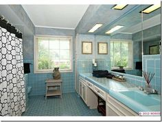 Mid-Century Modern Bathrooms-Alive & Well!