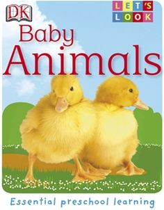 Discover little lambs, fluffy chicks, baby zebra foals, and more, as your child learns all about baby animals.