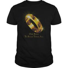 awesome  Lord Of The Rings - One Ring To Rule Them All Check more at http://plaintee.top/hot-tshirts/affordable-lord-of-the-rings-one-ring-to-rule-them-all.html