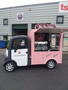 mini catering trailer van - Google Search
