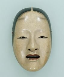 Noh mask, Zō-onna (a noble woman), one of 47 Noh masks formerly owned by Konparu Sōke (the leading family of the Konparu school), Wood, colored Muromachi-Meiji period/15-19th century Originally owned by Konparu-za Tokyo National Museum.