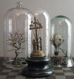 Large Glass Dome Display by RedCoralCurio on Etsy #Christmas #thanksgiving #Holiday #quote