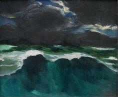 © Emil Nolde - Ocean and Dark Clouds