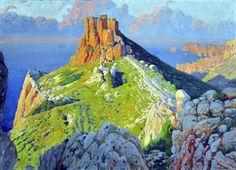 Castell del Rei - Santiago Rusinol