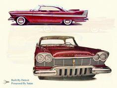 Christine. Plymouth Fury 1958