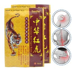 8Pcs Medical Plaster Tiger alm Arthritis Joint Pain Rheumatism Shoulder Pain Body Massage Patch from Backache Health K00101