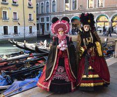Carnaval de Venecia: paseo romántico en góndolas