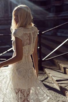 lace dress | bridemaid