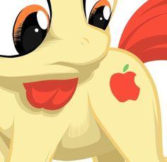 best cutie mark EVER! - Apple Bloom's cutie mark