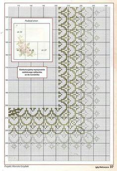 Mutfak takımları Cross Stitch Love, Cross Stitch Borders, Modern Cross Stitch, Cross Stitch Flowers, Cross Stitching, Cross Stitch Patterns, Ribbon Embroidery, Cross Stitch Embroidery, Embroidery Patterns