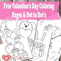 Children will adore these pages to color this Valentine's Day. These 10 free Valentine coloring pages include heart coloring pages, pictures coloring… Valentines Day Activities, Valentines Day Party, Valentines For Kids, Valentine Day Crafts, Valentine Ideas, Educational Activities, Learning Activities, Heart Coloring Pages, Cute Coloring Pages